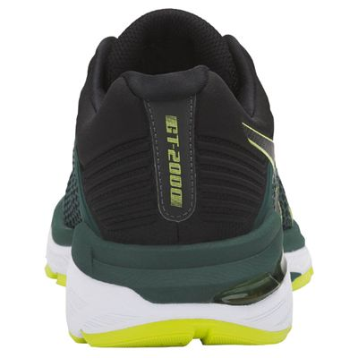 Asics GT-2000 6 Mens Running Shoes AW18 - Green - Back