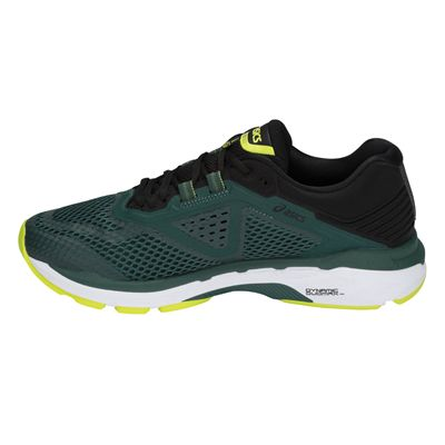 Asics GT-2000 6 Mens Running Shoes AW18 - Green - Side