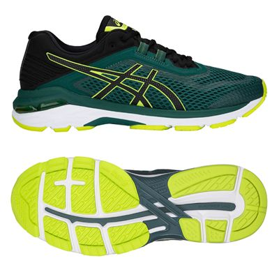 Asics GT-2000 6 Mens Running Shoes AW18 - Green