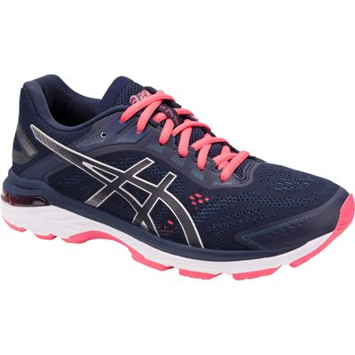 Asics GT-2000 7 Ladies Running Shoes Blue - Angle1