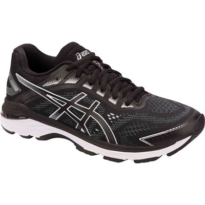 Asics GT-2000 7 Ladies Running Shoes - Black - Angle1