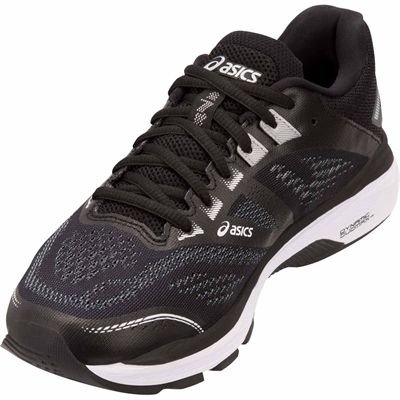 Asics GT-2000 7 Ladies Running Shoes - Black - Angle2