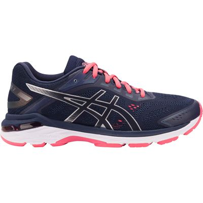 Asics GT-2000 7 Ladies Running Shoes Blue - Side
