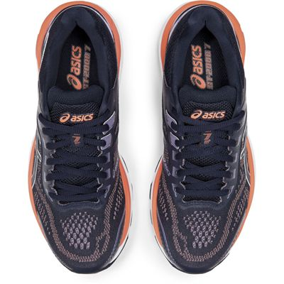 Asics GT-2000 7 Ladies Running Shoes AW19 - Black - Above