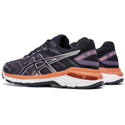 Asics GT-2000 7 Ladies Running Shoes AW19 - Black - Angled