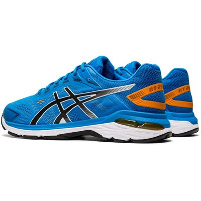 Asics GT-2000 7 Mens Running Shoes AW19 - Blue - Angled