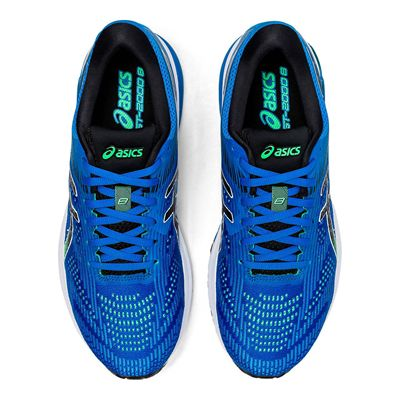 Asics GT-2000 8 Mens Running Shoes - Blue - Above