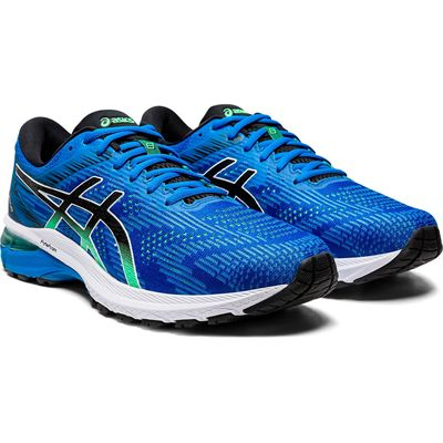 Asics GT-2000 8 Mens Running Shoes - Blue - Angled