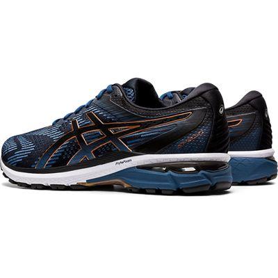 Asics GT-2000 8 Mens Running Shoes - BlueBlack - Slant