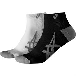 Asics Lightweight Running Socks - 2 Pair Pack