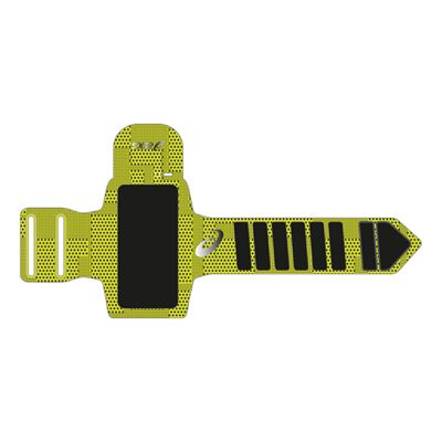 Asics MP3 Arm Tube Running Armband-yellow