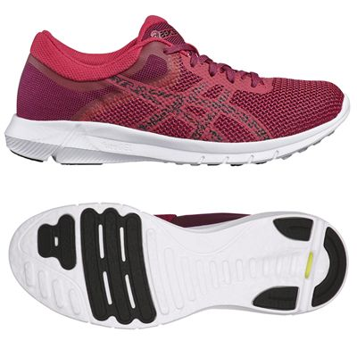 Asics NitroFuze 2 Ladies Running Shoes - Pink