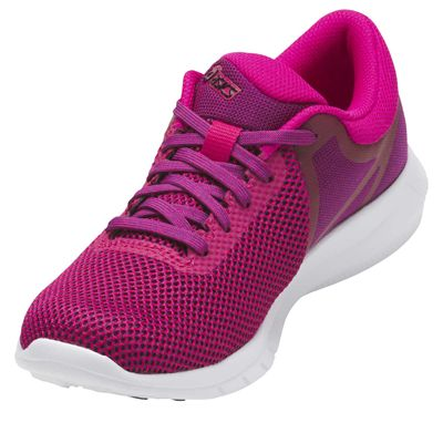 Asics NitroFuze 2 Ladies Running Shoes - Pink/Angled
