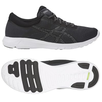 Asics NitroFuze 2 Mens Running Shoes - Black