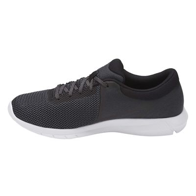 Asics NitroFuze 2 Mens Running Shoes - Black/Side