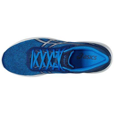 Asics NitroFuze Mens Running Shoes-Blue-White-Top