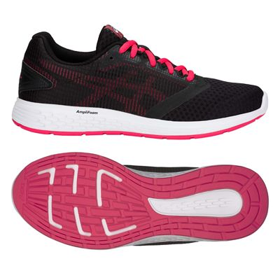 Asics Patriot 10 Ladies Running Shoes - Black