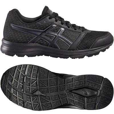 Asics Patriot 8 Ladies Running Shoes-Black