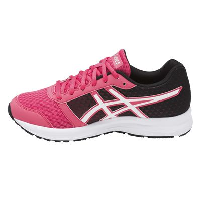 Asics Patriot 8 Ladies Running Shoes AW17 - Pink/Side