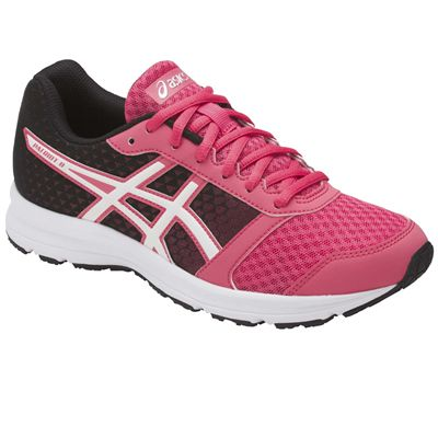 Asics Patriot 8 Ladies Running Shoes AW17 - Pink/Angled2
