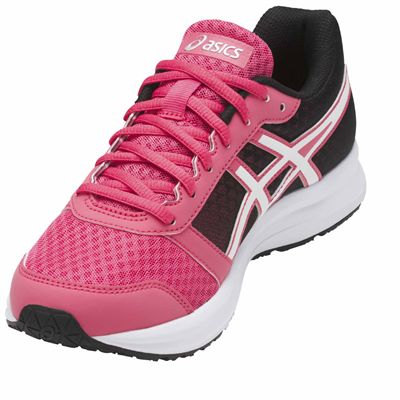 Asics Patriot 8 Ladies Running Shoes AW17 - Pink/Angled