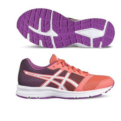 Asics Patriot 8 Ladies Running Shoes-orange-main