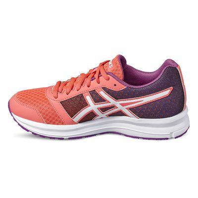 Asics Patriot 8 Ladies Running Shoes-orange-side2