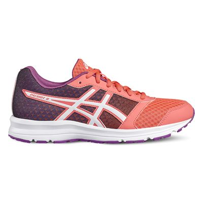 Asics Patriot 8 Ladies Running Shoes-orange-side