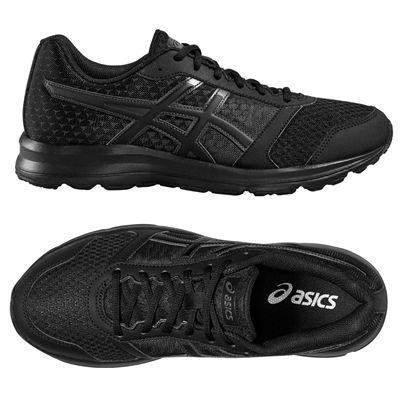 Asics Patriot 8 Mens Running Shoes - Black - Top