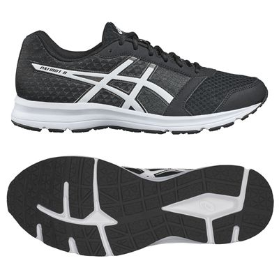 Asics Patriot 8 Mens Running Shoes AW17 - Black