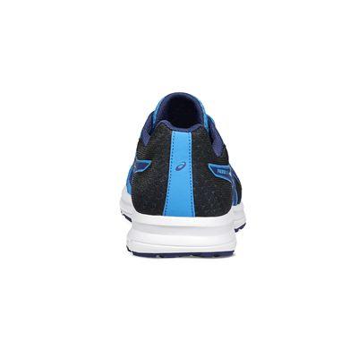 Asics Patriot 8 Mens Running Shoes-blue-heel