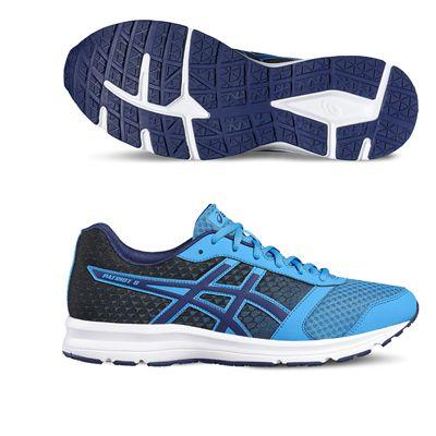 Asics Patriot 8 Mens Running Shoes-blue-main