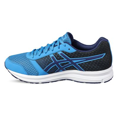 Asics Patriot 8 Mens Running Shoes-blue-side2
