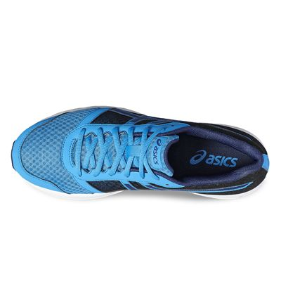 Asics Patriot 8 Mens Running Shoes-blue-top