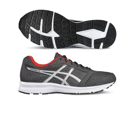 Asics Patriot 8 Mens Running Shoes-grey-main