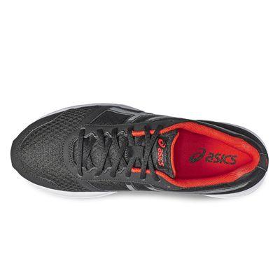 Asics Patriot 8 Mens Running Shoes-grey-top