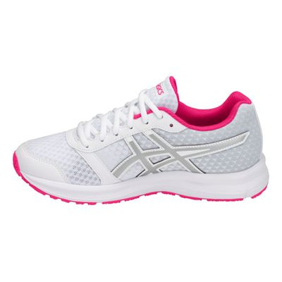Asics Patriot 9 Ladies Running Shoes - White - Side