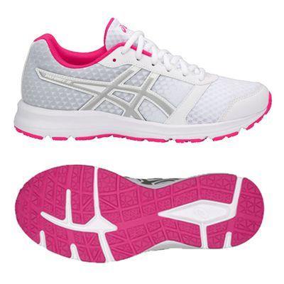 Asics Patriot 9 Ladies Running Shoes - White