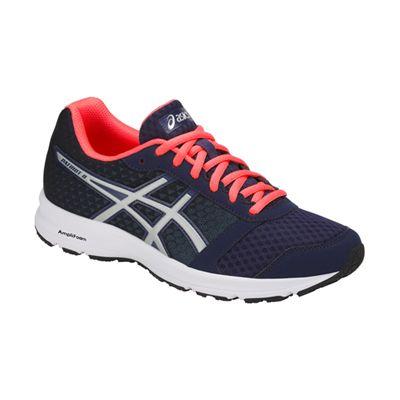SAsics Patriot 9 Ladies Running Shoes - Angled