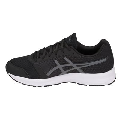 Asics Patriot 9 Mens Running Shoes - Black - Side
