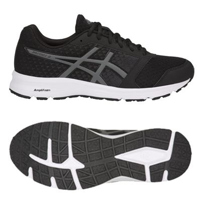 Asics Patriot 9 Mens Running Shoes - Black