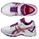Asics Pre Galaxy 8 PS Junior Running Shoes - Purple - Alternative View