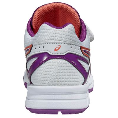 Asics Pre Galaxy 8 PS Junior Running Shoes - Purple - Back