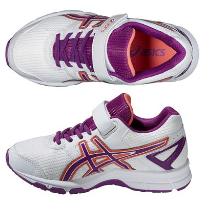 Asics Pre Galaxy 8 PS Junior Running Shoes - Purple