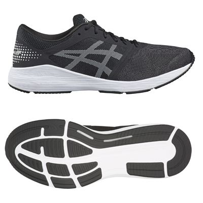 Asics RoadHawk FF Mens Running Shoes - Black