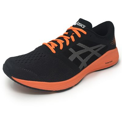 Asics RoadHawk FF Mens Running Shoes - BlackOrange