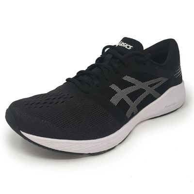Asics RoadHawk FF Mens Running Shoes - BlackWhite