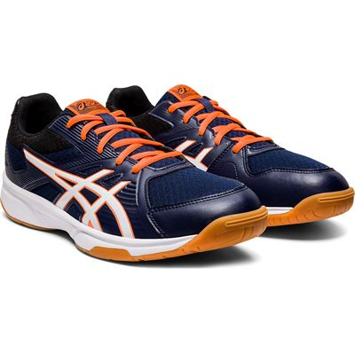 Asics Upcourt 3 Mens Indoor Court Shoes - Angled