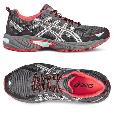 Asics Venture 5 Ladies Running Shoes - Alt. View