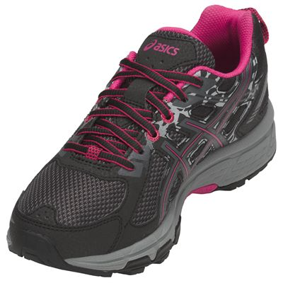 Asics Venture 6 Ladies Running Shoes AW18 - Angled